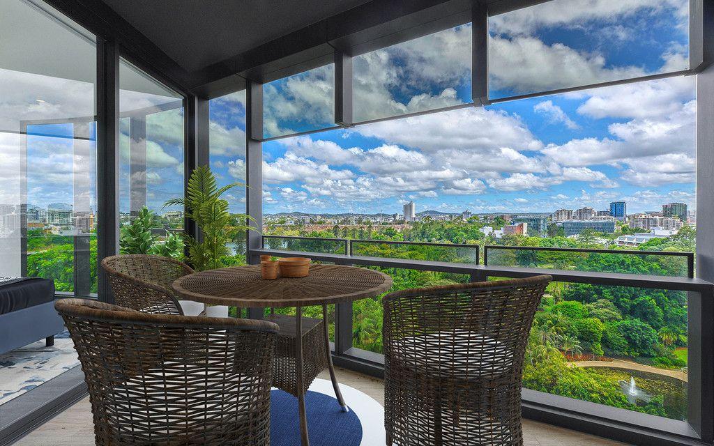 Overlook the Botanical Gardens in the Prestigious Abian Apartments!